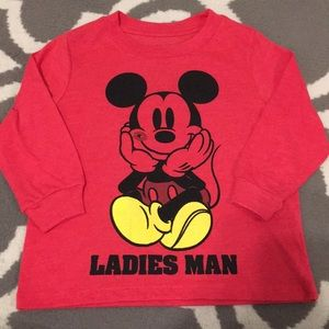 2T long sleeve Mickey Mouse t-shirt